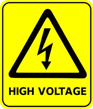 Free safety-sign-high-voltage Clipart - Free Clipart Graphics, Images and Photos. Public Domain ...