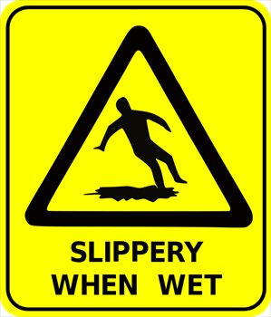 Free safety-sign-slippery-when-wet Clipart - Free Clipart Graphics ...