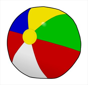 Free beach-ball-01 Clipart - Free Clipart Graphics, Images and Photos ...