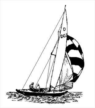 Free sailing Clipart - Free Clipart Graphics, Images and Photos ...