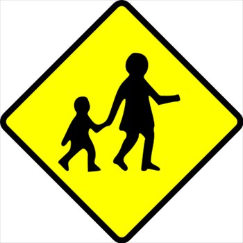 free sign caution children crossing clipart free clipart cow clip art black and white cartoon cow clip art black and white for shirts