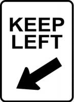 sign-keep-left