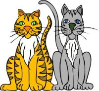 Clip Art Cats Clipart free cats clipart graphics images and photos cat cartoon 2