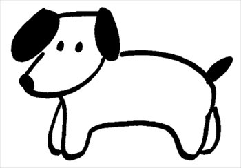 free dog 8 clipart free clipart graphics images and photos rh freeclipartnow com free clip art dogs black and white free clipart dogs playing
