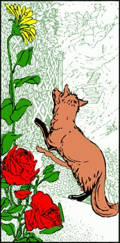 fox-by-fence-bookmark
