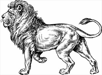 free lions clipart free clipart graphics images and photos rh freeclipartnow com free lion clipart black and white free mountain lion clipart