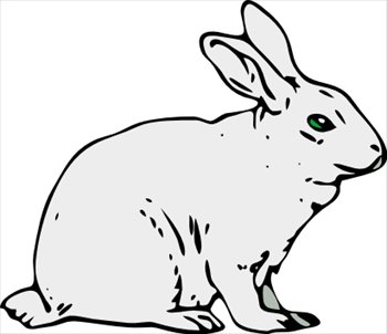 Free rabbit 1 clipart free clipart graphics images and photos rabbit 1 voltagebd Image collections