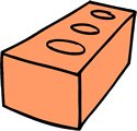 Free Brick-1 Clipart - Free Clipart Graphics, Images and Photos ...: www.freeclipartnow.com/construction/Brick-1.jpg.html